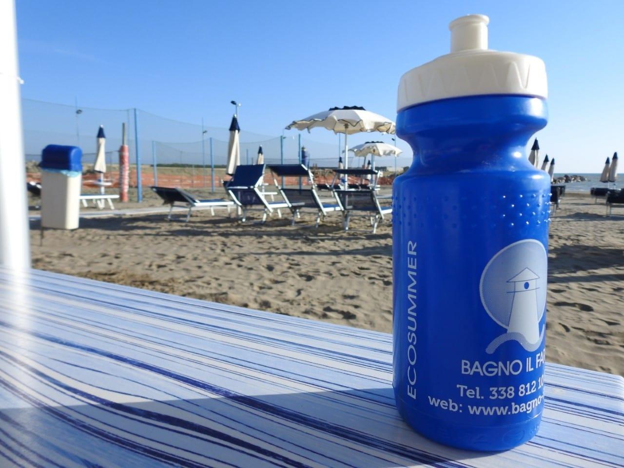 Stabilimenti Balneari a Castiglione della Pescaia | Bagno il Faro | Addio Plastica in Spiaggia!