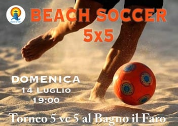 Castiglione della Pescaia Spiaggia | Bagno il Faro | Tornei Beach Soccer
