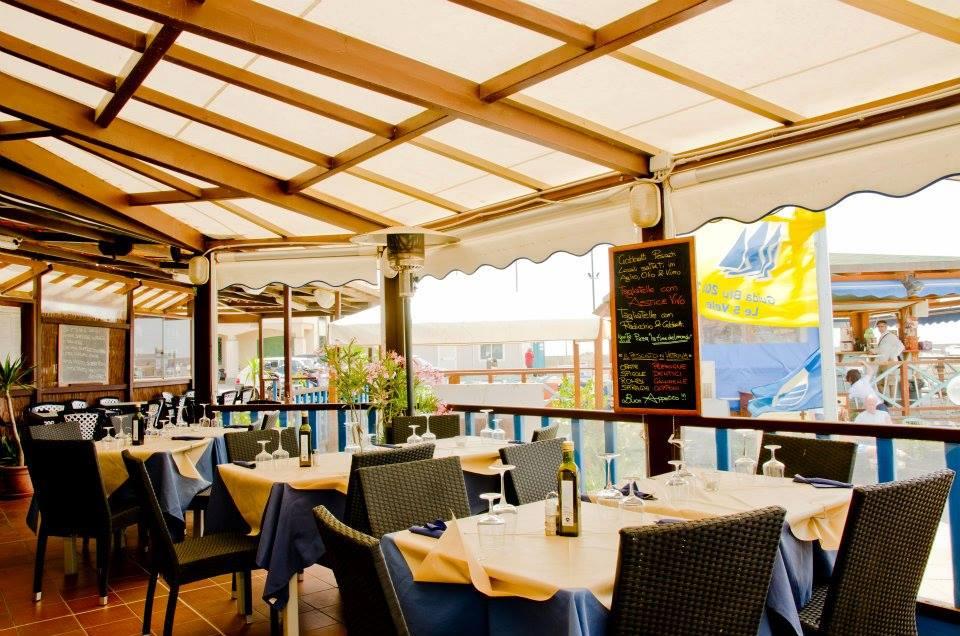 ristorante sulla spiaggia di castiglione della pescaia