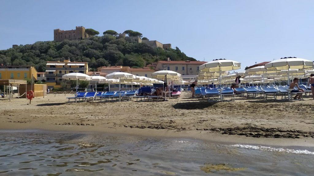 castiglione della pescaia spiagge per bambini